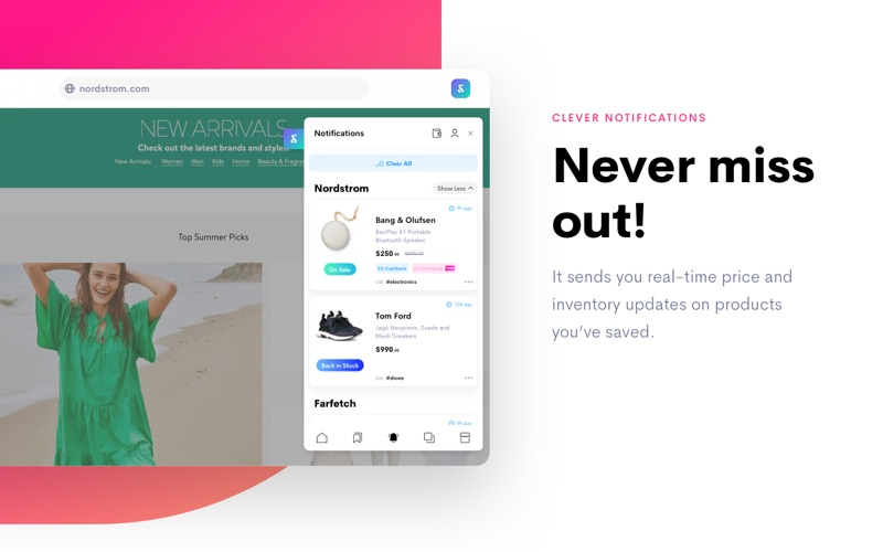 Shoptagr - Never miss a sale on items you love! | Startup