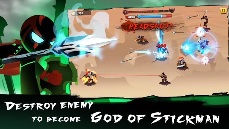 Stick Figtht : Battle for life screenshot-3