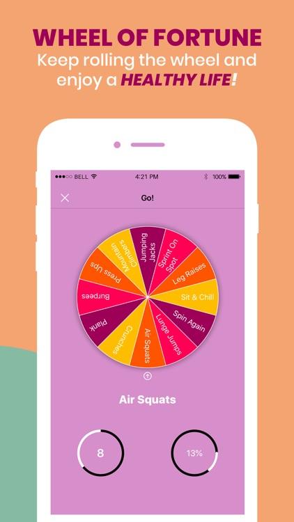 Workout Wheel: HIIT Workouts screenshot-5