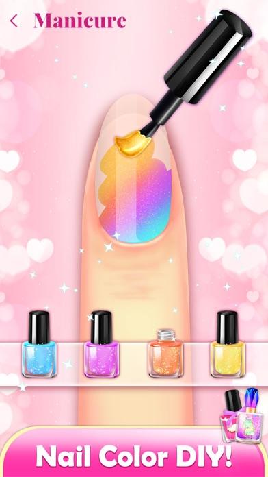 Nail Artist: Girl Salon Games Screenshot on iOS
