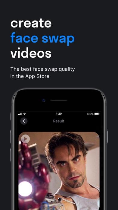 Reface: Face Swap Videos Screenshot