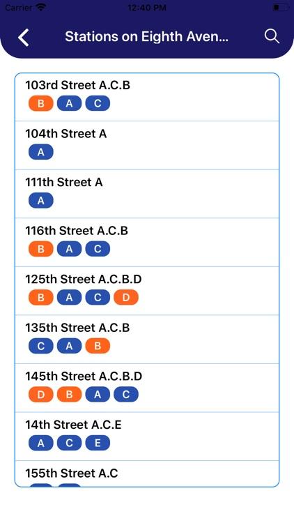 MTA NYC Subway Map Pro screenshot-4
