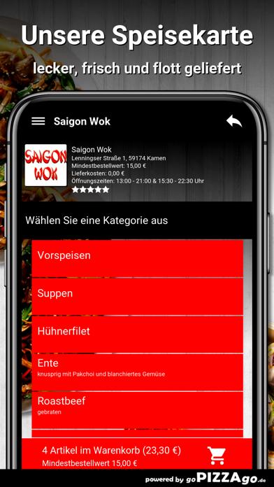 Saigon Wok Kamen screenshot 4
