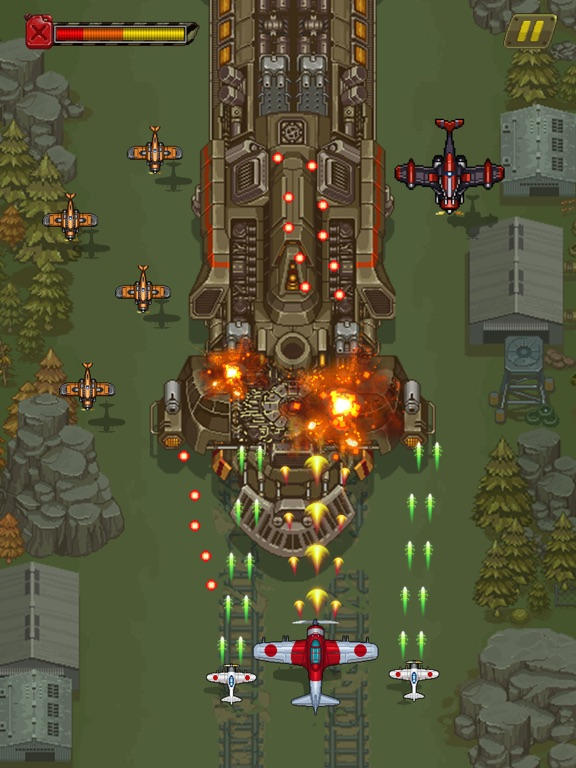 1945シューティングゲーム:飛行機ゲームのおすすめ画像6