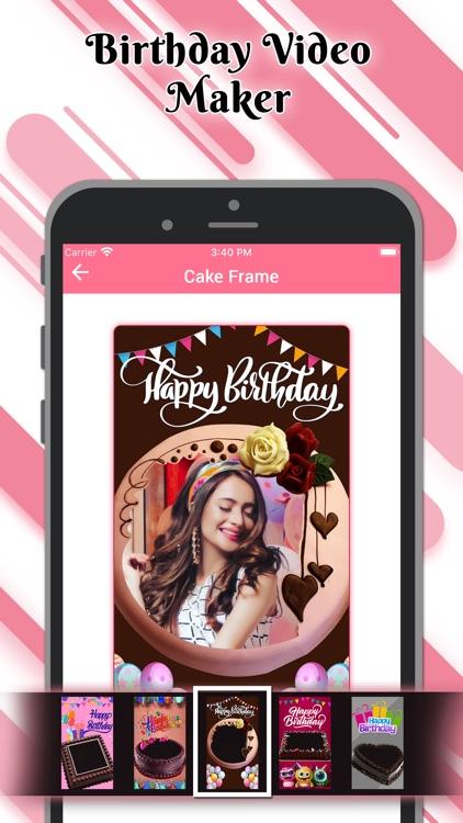 Birthday Video Maker Wid Song screenshot-5