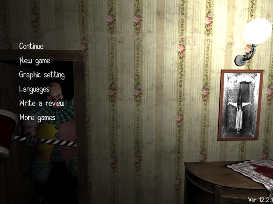 Horror Clown-Scary Escape Game screenshot