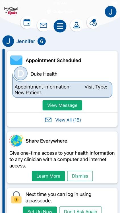 My Duke Health screenshot-4