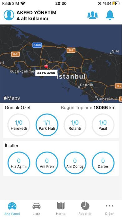 AKFED | Araç Takip Screenshot