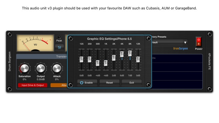 Drum Surgeon AUv3 Plugin