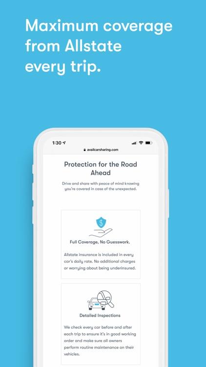 Avail - Car Sharing screenshot-3