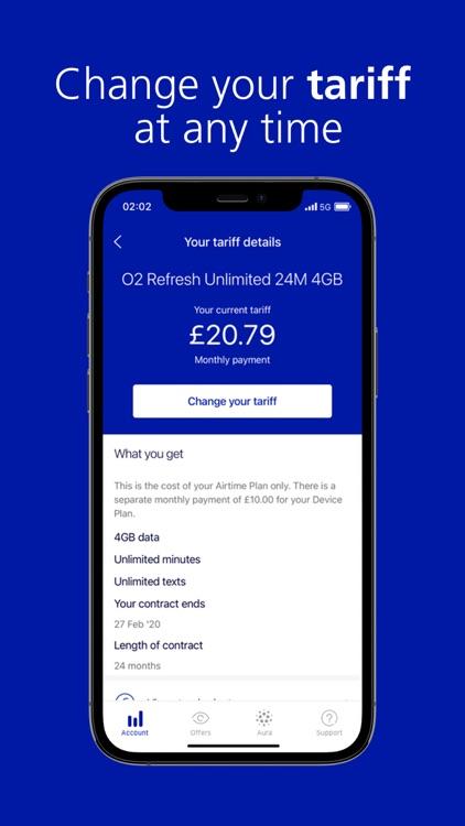 My O2 - Offers, Data, Bills screenshot-6