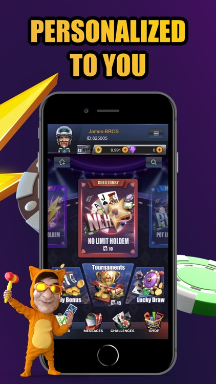 PokerBROS - Your Poker App screenshot-1