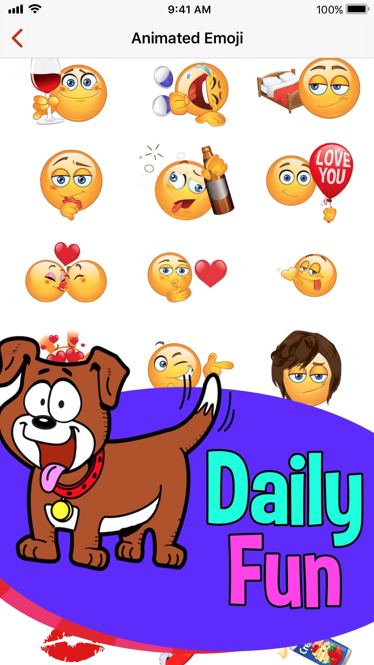 Adult Emojis for Daily Flirts Screenshot