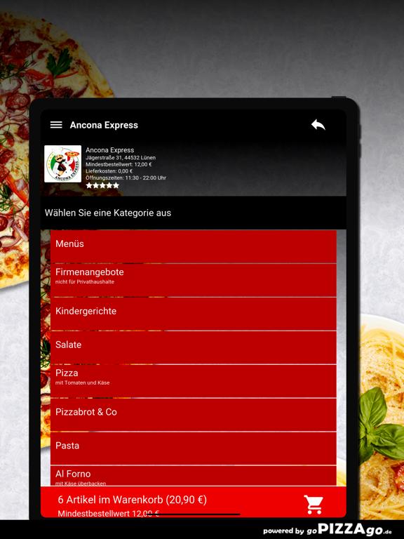 Ancona Express Lünen screenshot 8