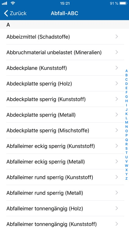 AVR Abfall screenshot-4