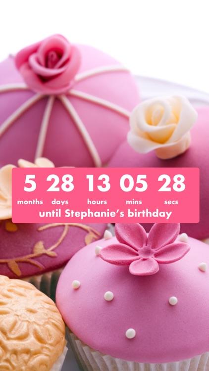Birthday Countdown  screenshot-4