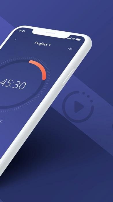 Focus, commit - Pomodoro Timer скриншот программы 2