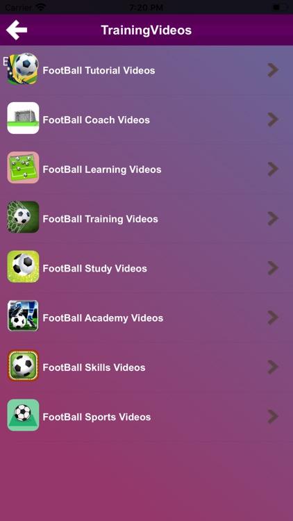 FootBall Tutorials screenshot-3