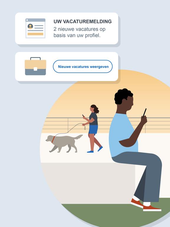 LinkedIn: Een baan zoeken iPad app afbeelding 6