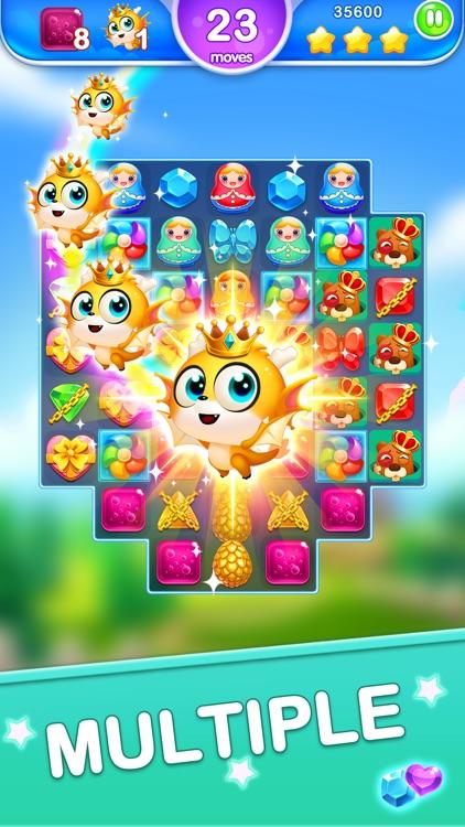 Jewel Blast Dragon - Match 3 screenshot-4