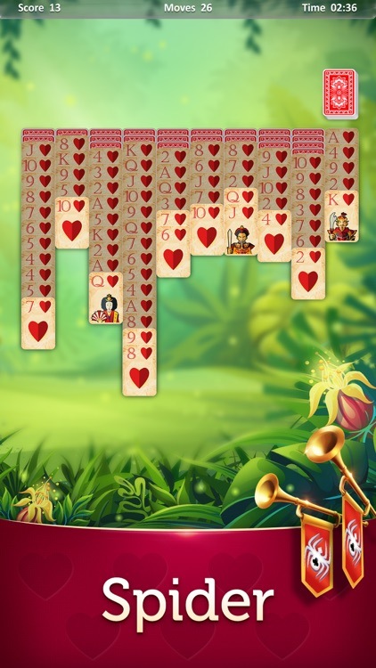 Magic Solitaire - Card Games screenshot-4