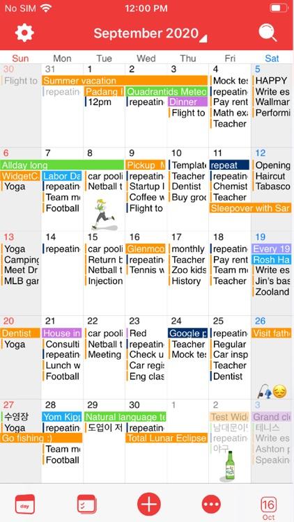 WidgetCal-Calendar Widget screenshot-5