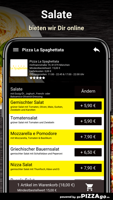 La Spaghettata München screenshot 5