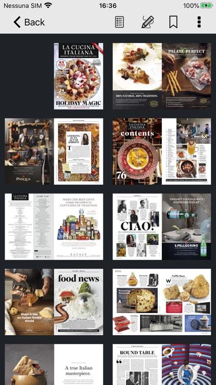 La Cucina Italiana USA screenshot-7