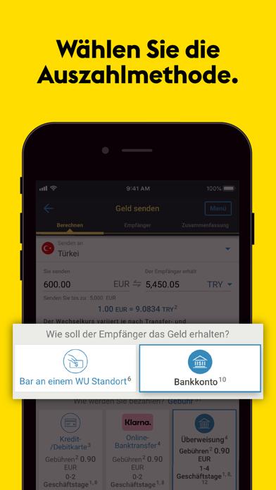 Western Union® GeldtransferScreenshot von 3