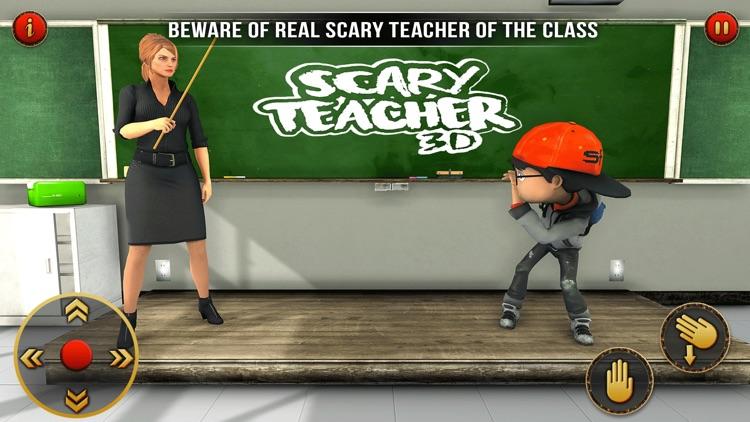Scary Teacher 2021:School Game screenshot-3