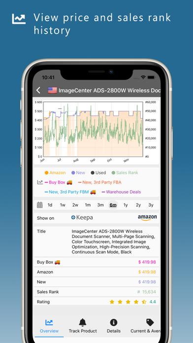 Keepa · Price Trackerのおすすめ画像1