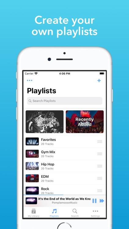 Musicana - Organizer & Player screenshot-3
