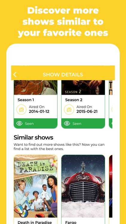 I've seen it – TV Tracking screenshot-4