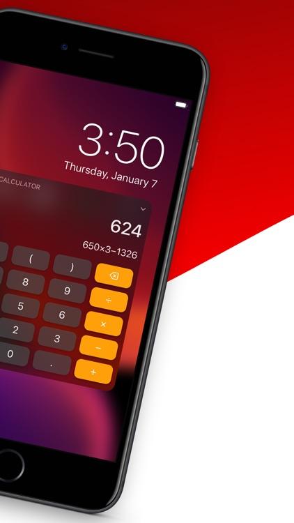 Calculator Widget - WCalc screenshot-1