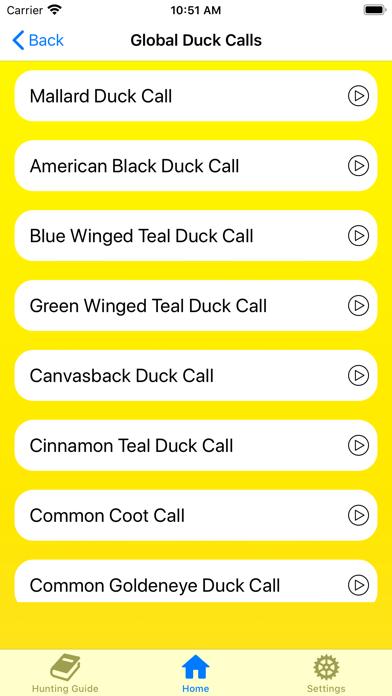 Duck Hunting Calls: Decoy Pro Screenshots