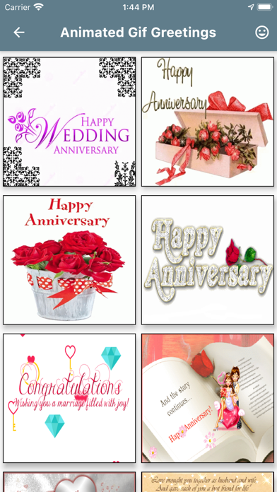Wedding Anniversary Card Maker Screenshot