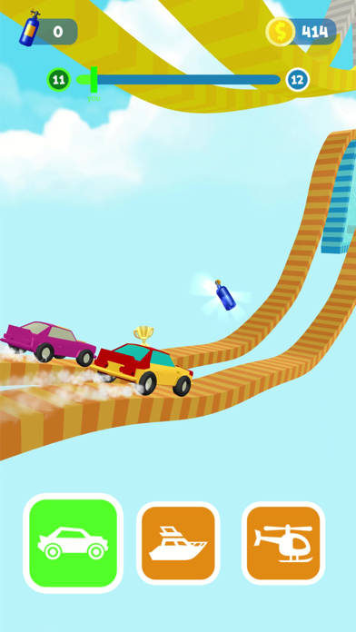 Screen Shot Shift Race: Car&boat games 3d 0