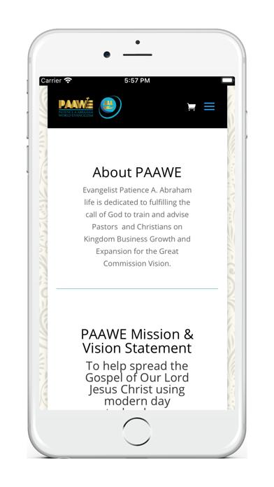 Paawe Ministries Screenshot