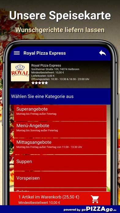 Royal Pizza Express Heilbronn screenshot 6