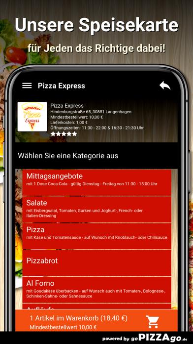 Pizza Express Langenhagen screenshot 4