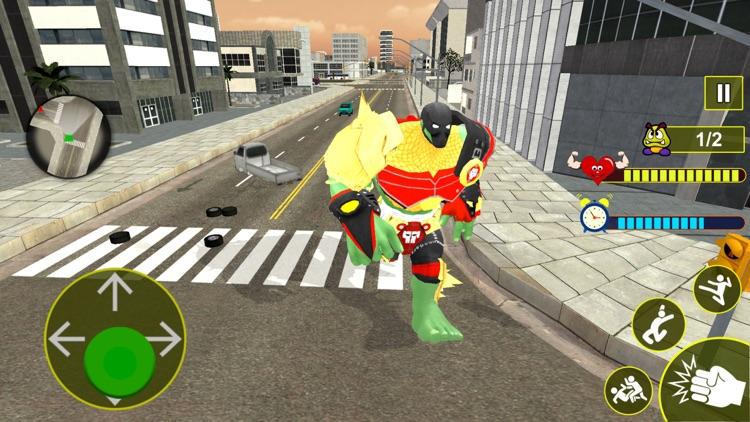 Incredible Monster City Battle screenshot-3