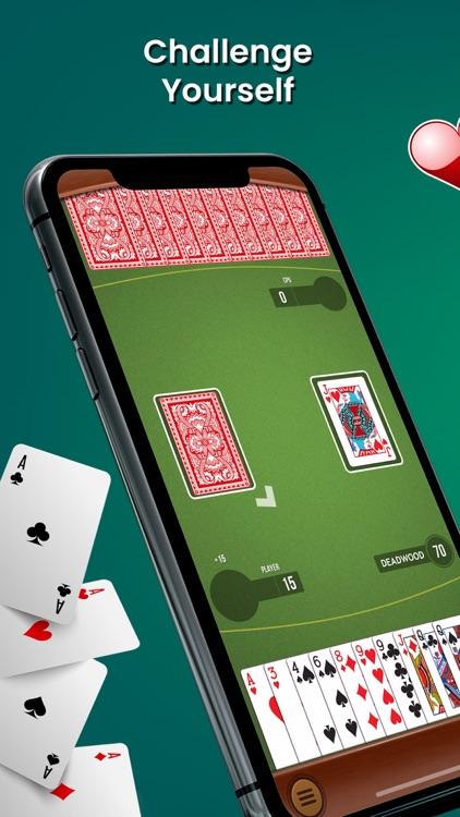 Gin Rummy Card Game Classic™ screenshot-0