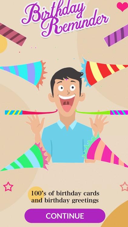 Birthday Reminder + screenshot-7