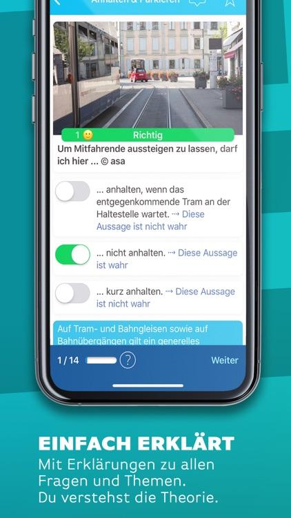 iTheorie Auto Theorie Schweiz screenshot-3