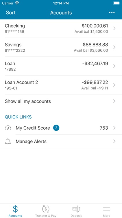 NW Plus CU-Mobile Banking screenshot-2