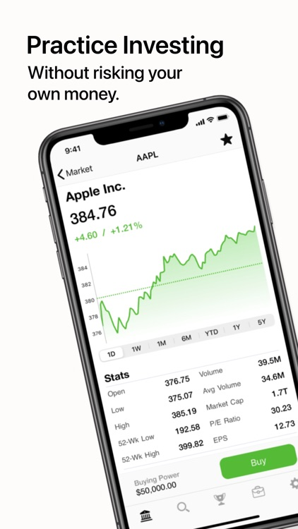 Dream Trade: Stock Market Sim