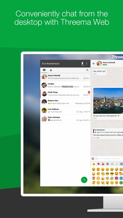Threema. The Secure Messenger screenshot-3