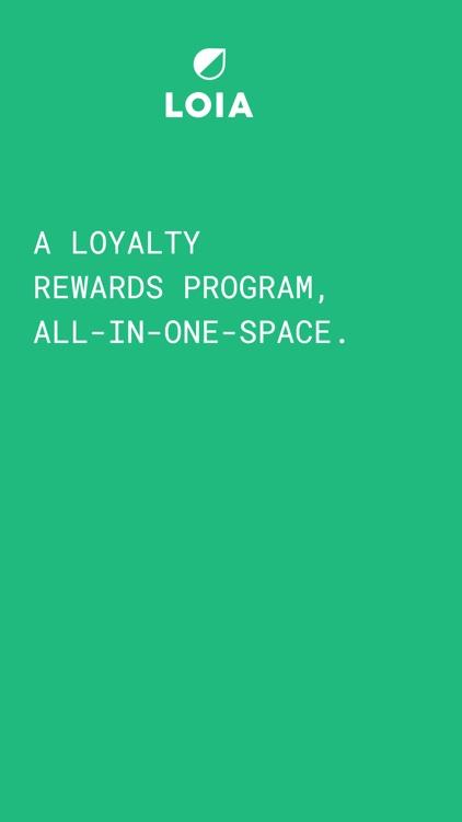 LOIA - Rewards Program