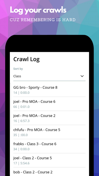 Crawl Scorekeeper by So Dialed Screenshot