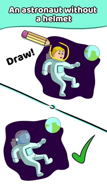 Draw a Line: Tricky Brain Test screenshot-5